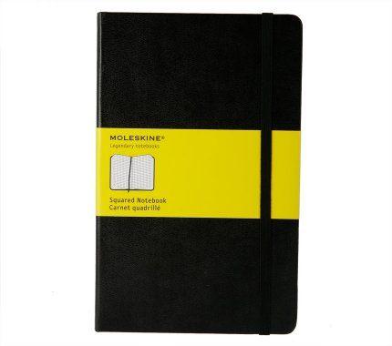 Caderno quadriculado - grande