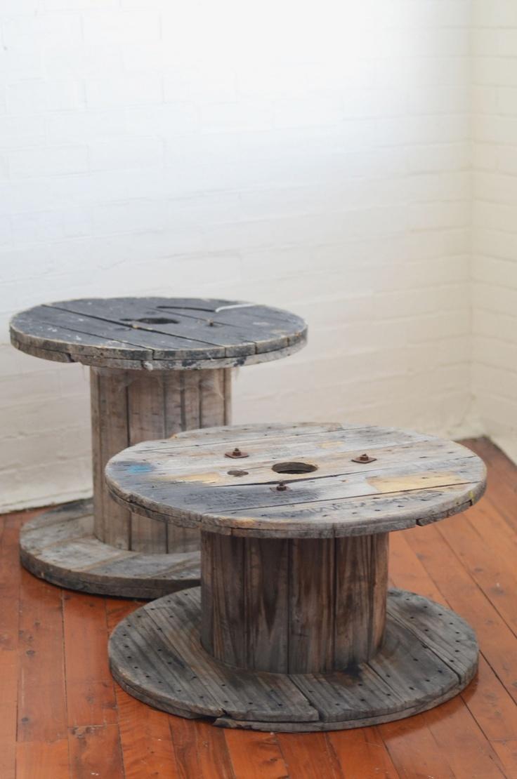 best wooden spool images on pinterest