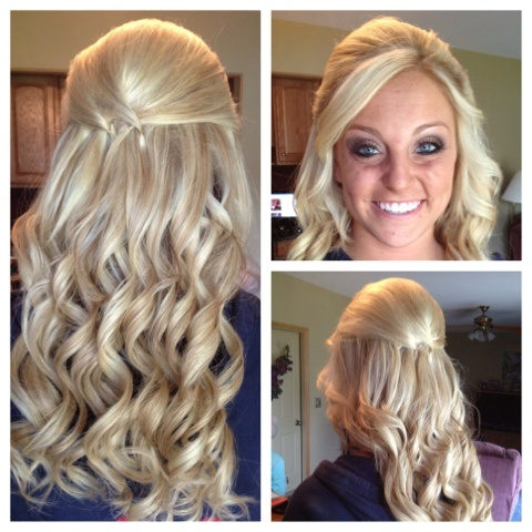 Cheerleader Hairstyles how to do the perfect cheer hair bump poof with ponytail and cheer bow big cheerleader hair youtube Prom Hairstyle Hairbykimberly