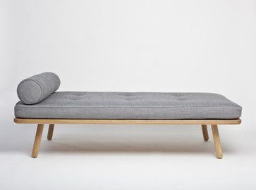 Day Bed One modern day beds and chaises. Love this version of the Barcelona day bed. Can incorporate this into an eclectic living room.