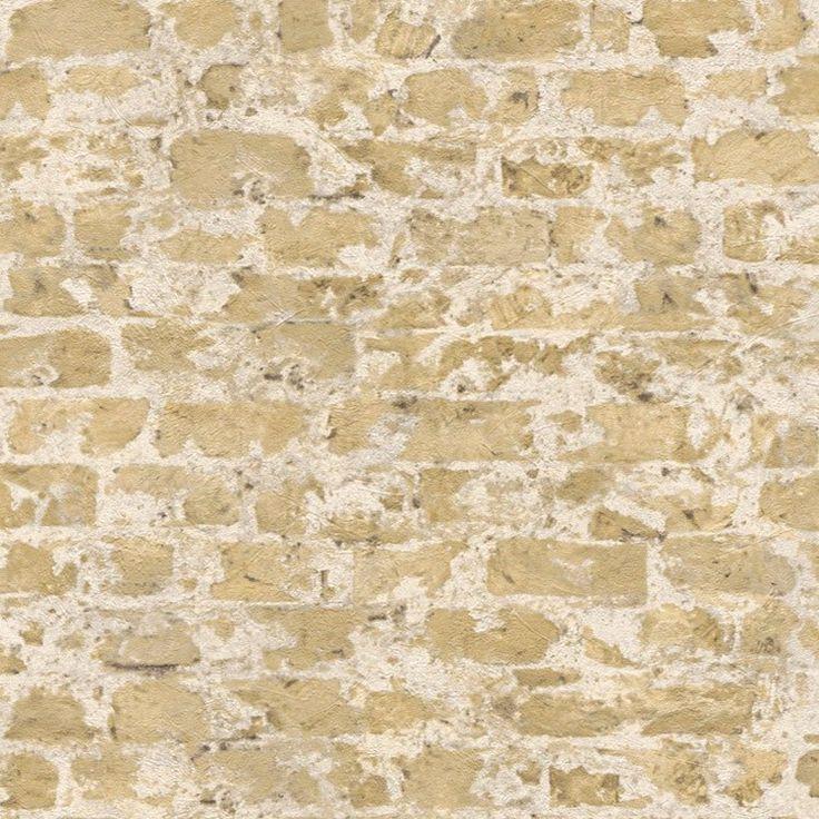 88 best papel pintado ladrillo y piedra images on for Papel pintado imitacion azulejo