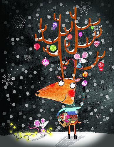 Christmas card 2009 - Alex T. Smith