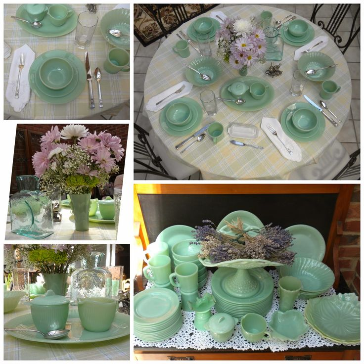 Panoply: Jadeite Collection - Part 2 of 2: Tableware