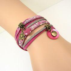 Jisalée: tutoriel bijoux : le bracelet 2 tours