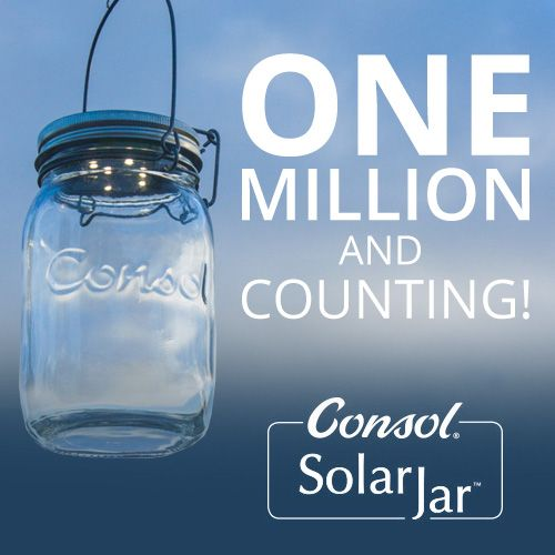 One million Consol Solar Jars and counting!