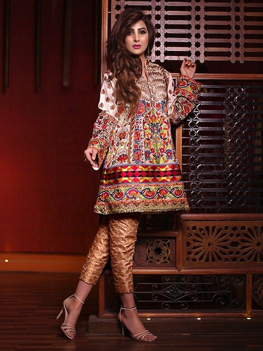 Shamaeel Ansari Bridal Formal Collection 2016 Majestic Luxury Dresses (9)