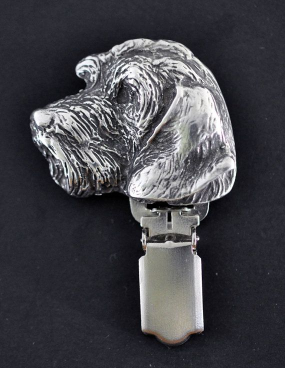 Teckel Dachshund wirehaired dog clipring dog by ArtDogshopcenter