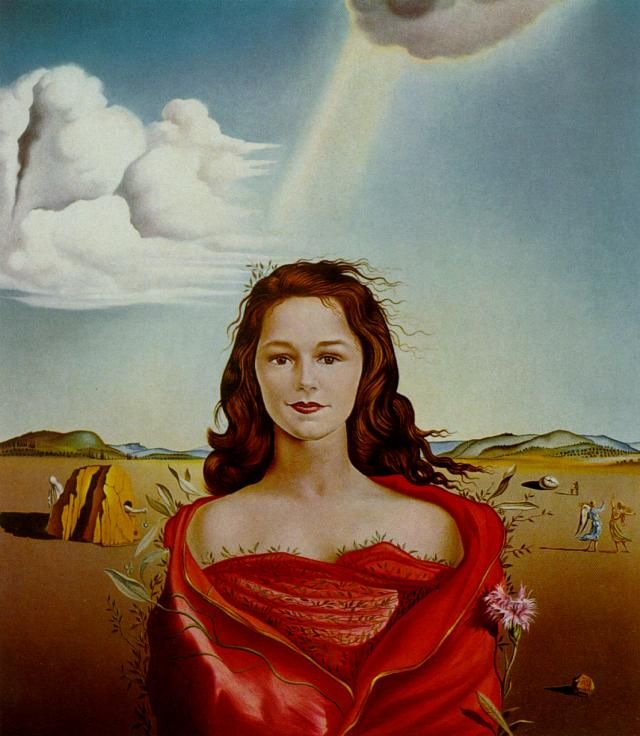 Salvador Dalí | Portrait of Mrs. Mary Sigall