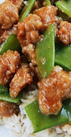 Skinny General Tso's Chicken aka my favorite Chinese chicken ever ~ Daringly Delicious!