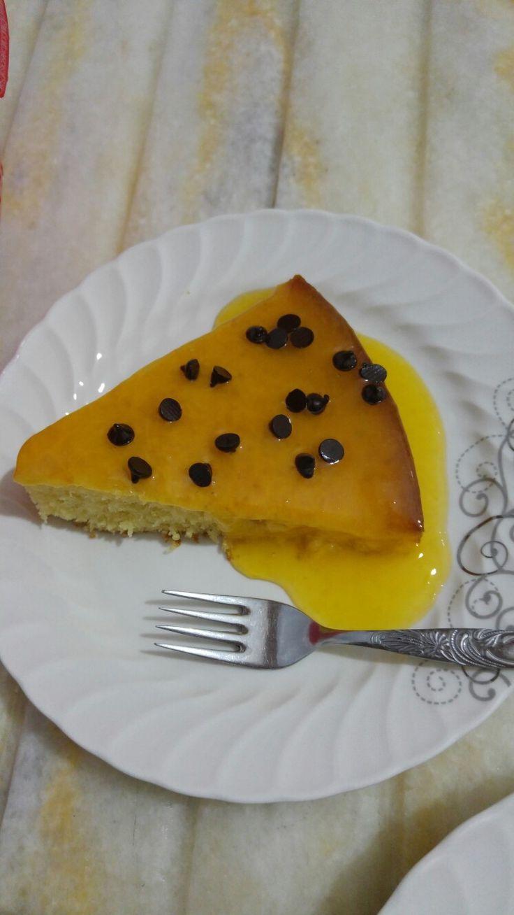 Portakal joleli kek