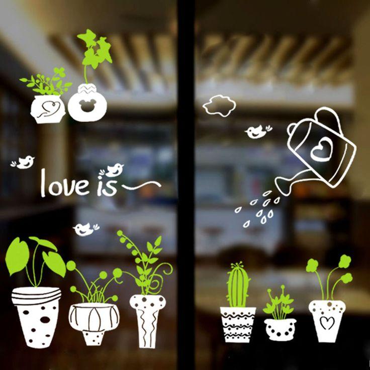 Samolepky ozdobné rastliny v kvetináčoch  Sada dekoratívnych nálepiek, ktoré môžete používať doma, v práci, v kuchyni, v kancelárii, kde si dokážete predstaviť. Samolepky budú určite robiť každú izbu dostane veľa šarmu. https://www.cosmopolitus.com/dekorativne-samolepky-rastliny-kvetinacoch-p-241865.html?language=en&pID=241865 #sticker #decoration #kitchen #house #work #green #plant #pots