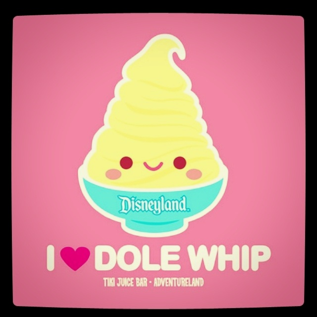 Dole Whips. YES!! @Jessica Dawson @kori evans I am so jealous that you will be eating these in a few short weeks!!1!