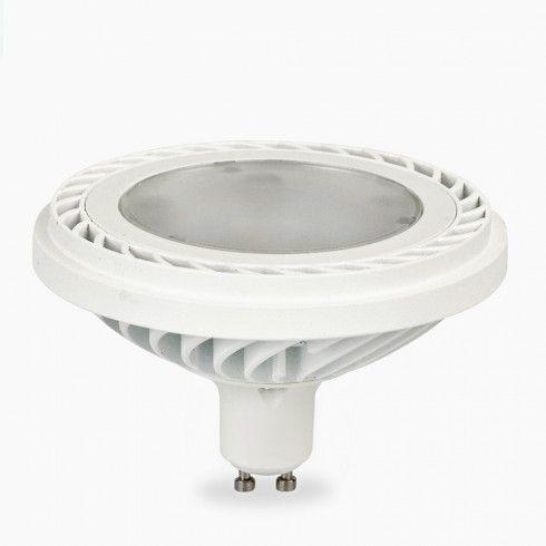 Nowoczesna żarówka LED ES111 o mocy 10W, odpowiednik 50W, w 100% kompatybilny z oprawami z gniazdem Gu10, 3 lata gwarancji! Polski produkt!