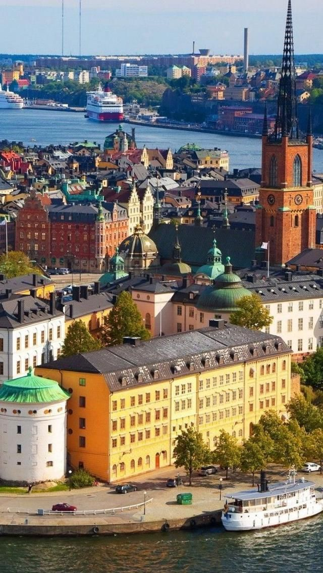 Stockholm, Capital, Sweden, Europe, Geography, River, Architecture