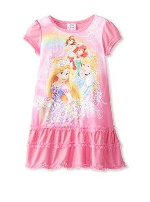 68% OFF Princess Girl's Nightgown (Pink/Yellow)