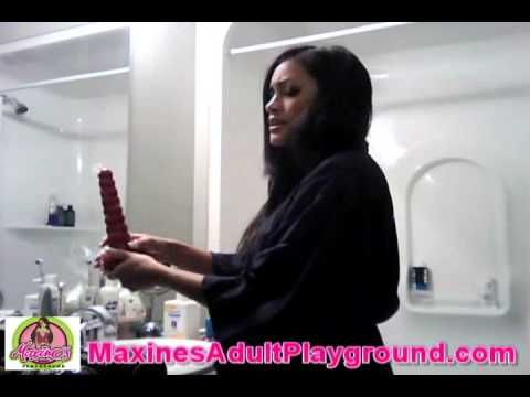 Maxine X teaches you #HowTo Clean your #AdultToys #AdultStore http://www.maxinesadultplayground.com
