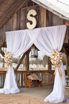 18 Ways To Use Wedding Monogram In Big Day Decor ❤ See more: http://www.weddingforward.com/wedding-monogram/ #weddings #decoration