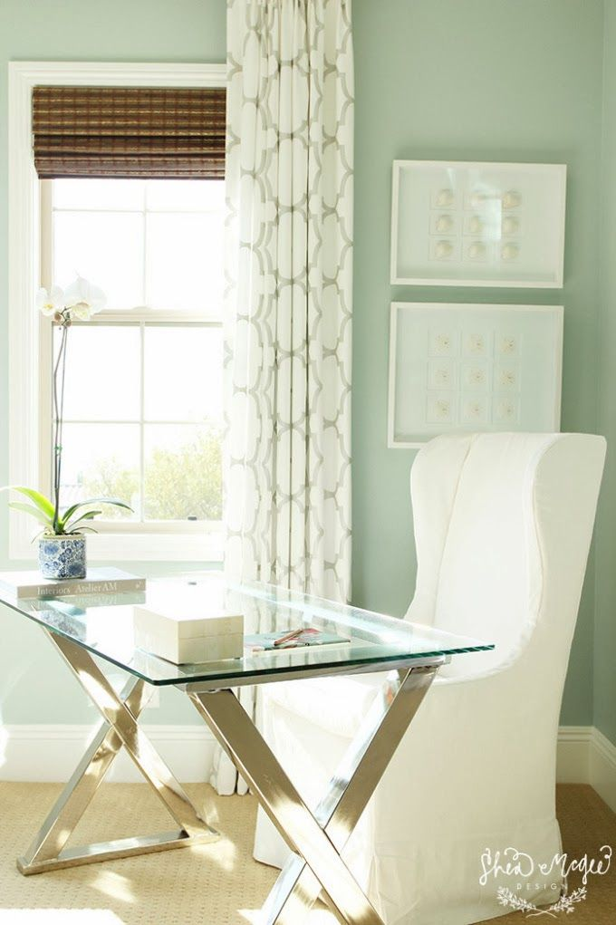 house of turquoise bedroom desk chair wall color