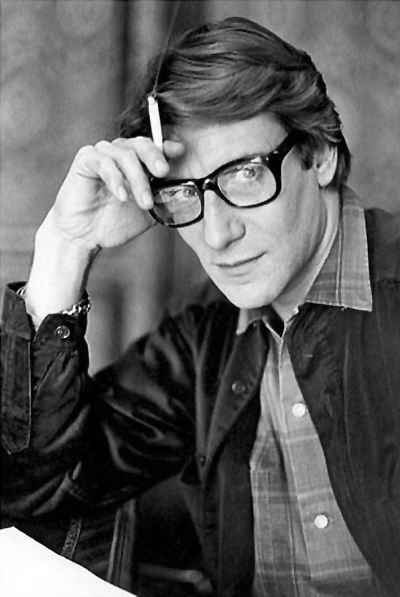 """Yves Saint Laurent, truly one of the most """"likeable"""" and personable designers who ever lived (IMO)."""