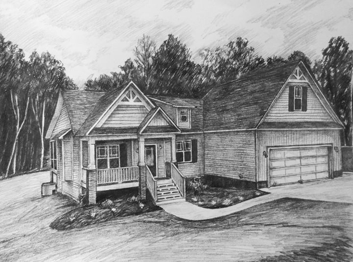 Sketch house #9 - HendriArt