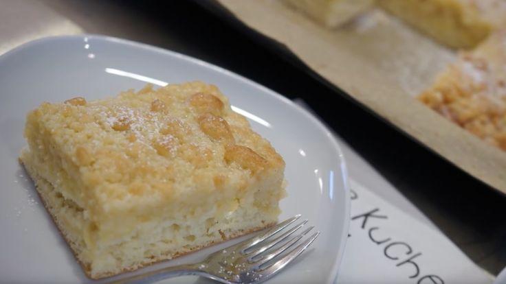 Klassischer Butterstreuselkuchen vom Blech