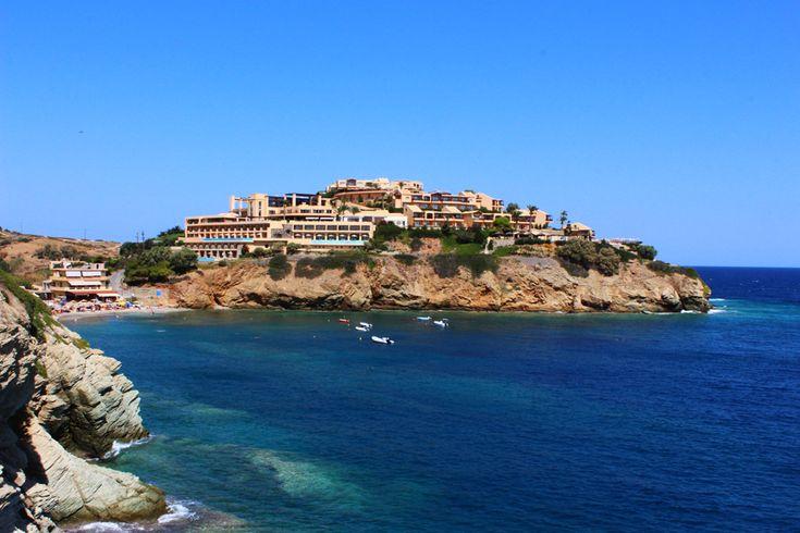 A beach near Agia Pelagia - Crete Island, Greece