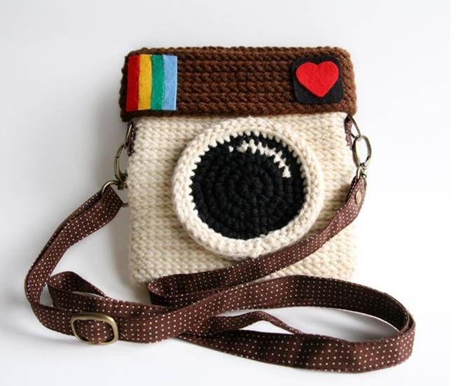 Aprenda a Fazer Bolsa Instagram em crochê #Passo a Passo