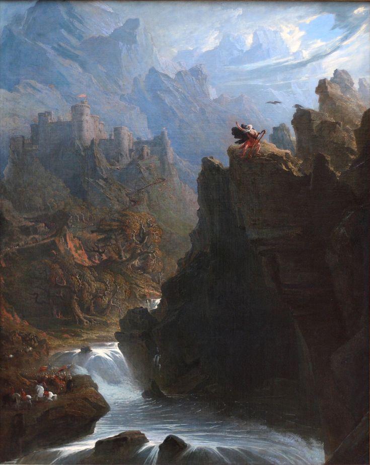 The Bard, John Martin, 1817