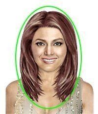 Einzigartige Schulterlänge Haarschnitte für runde Gesichter