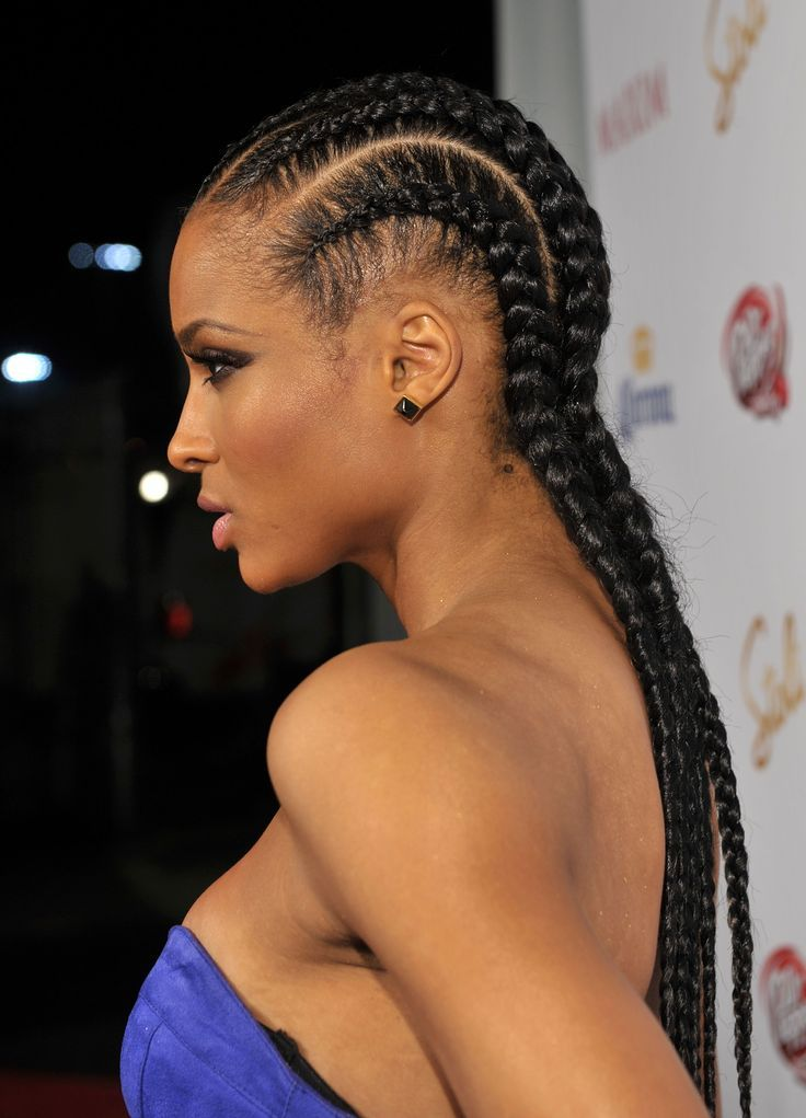 big braid hair styles cornrow big braided hairstyles for hair 9054