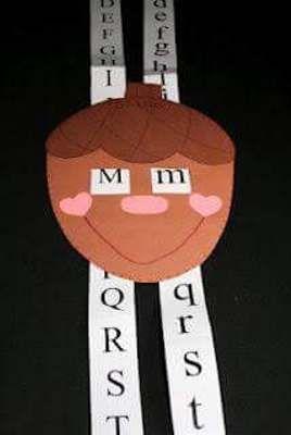 Aprendiendo a reconocer las letras mayúsculas y minúsculas con un simpático recurso