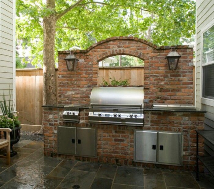 The Ideas About Outside Kitchen Design On Pinterest. Get Well Pictures In  This Channel,