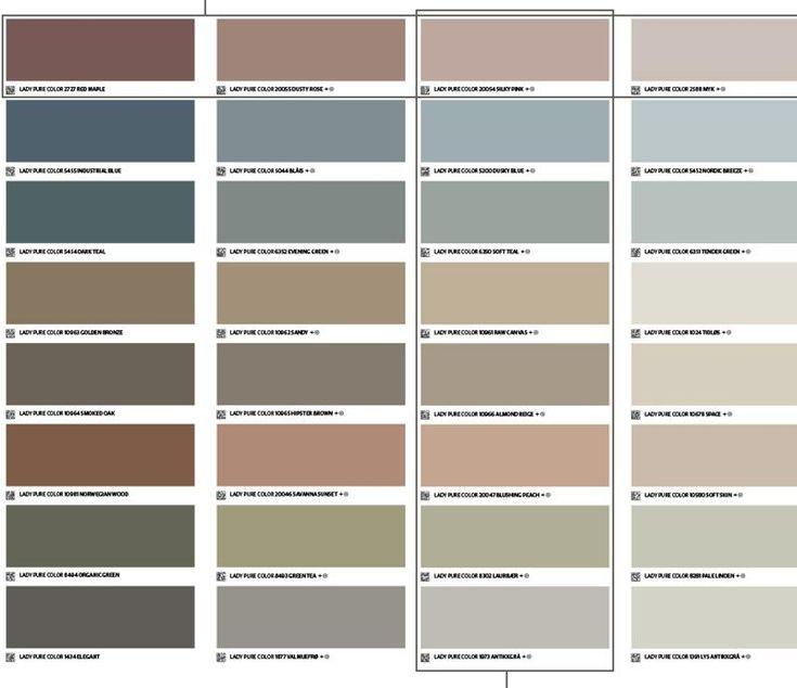 Jotuns smarte fargekart for 2018 - Billig byggevarehandel
