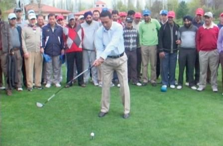 #Kashmir #valley plans for #high-end #golf #tourism #SRINAGAR: Overlooking the #majestic #Dal #Lake, the Royal #Springs #Golf Course (RSGC) in the rolling #foothills of the #Himalayan #Zabarwan range here is the #centrepiece of the state #government's plans to #attract high-end #tourism.