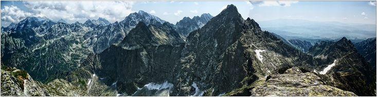 na Rysach panorama zdjęcia panoramiczne, panoramic photography, krajobrazy górskie,  #zdjęcia #panoramiczne #panoramic #photography #landscapes #Poland #Polska #krajobrazy #góry #Mountains #Tatry