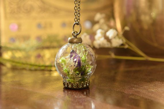 Check out this item in my Etsy shop https://www.etsy.com/ie/listing/468590423/irish-woodland-amethyst-terrarium