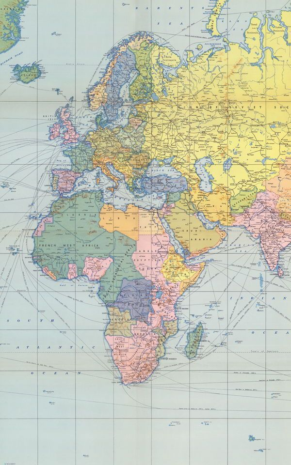 Pastel Vintage Wallpaper Muralswallpaper In 2020 World Map