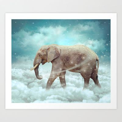 soaring anchor designs  (soaringanchordesigns) Walk With the Dreamers (Elephant in the Clouds) by Soaring Anchor Designs