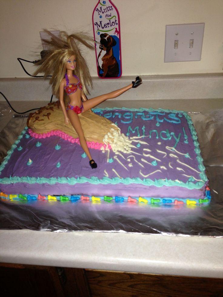 Barbie On A Penis Cake Freund HochzeitHochzeit WunscheBachelorette Party