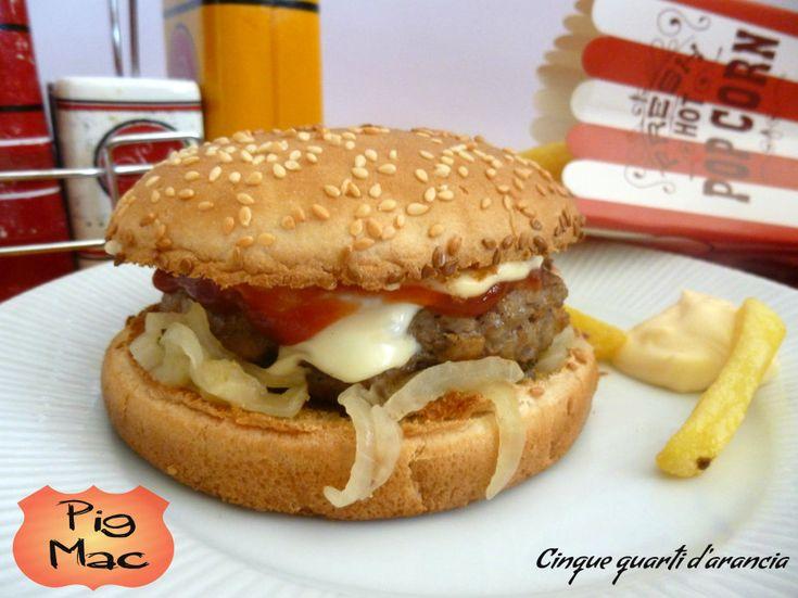 Hamburger di maiale (Pig Mac)