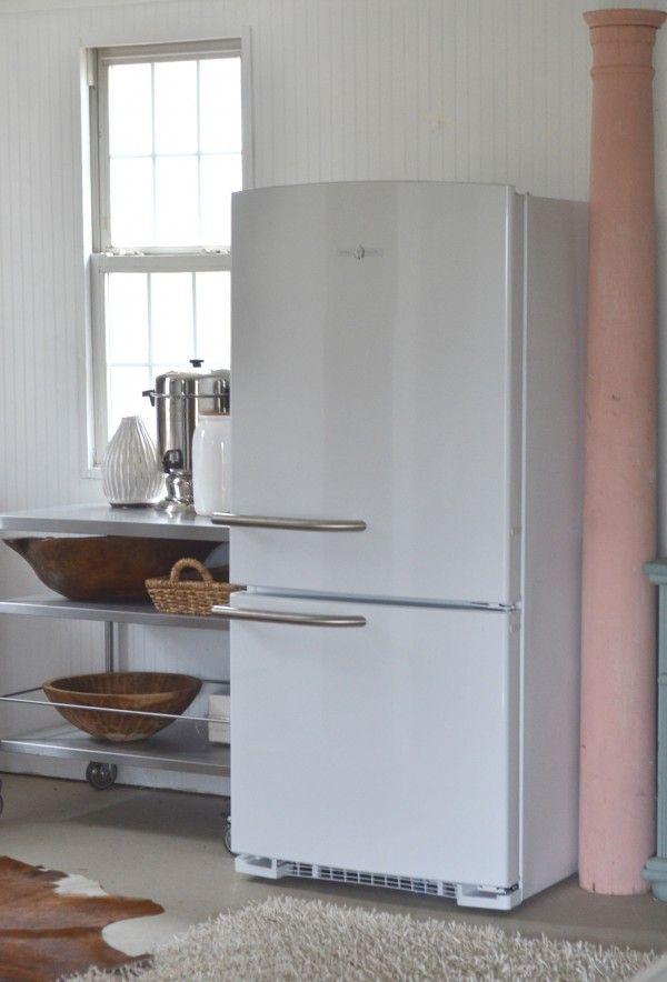 vintage meets modern meets adorable- GE Artistry Series Refrigerator