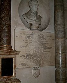 Pascal de Paoli Cenotaph - Westminster Abbey - London