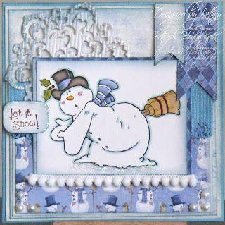 Snowman or snow
