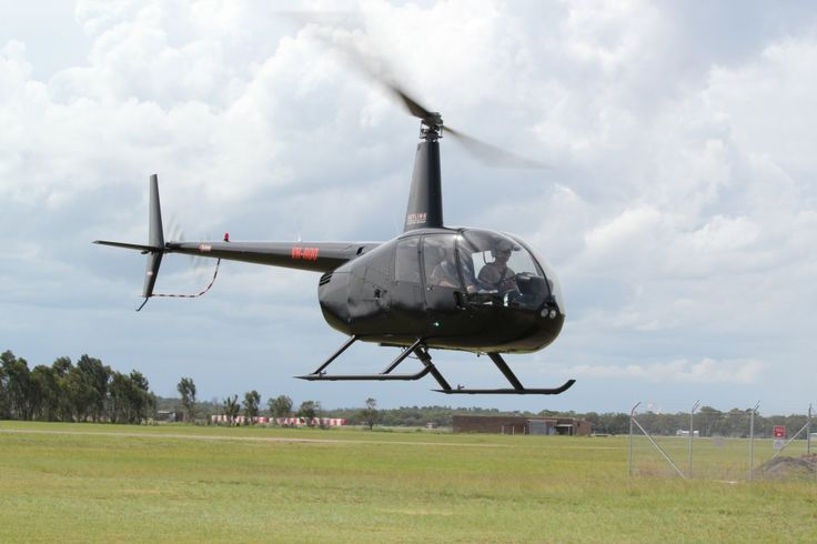 Learn to fly an R44 helicopter at our helicopter pilot training school at Newcastle Airport Williamtown.
