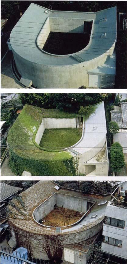 White-U House, Tokyo, by 2013 Pritzker Prize architect Toyo Ito l The U-House was built in 1976 in the centre of Tokyo. It was designed by the architect Toyo Ito for his older sister, who had just lost her husband to cancer. In 1997 the house was demolished before Toyo Ito's eyes.