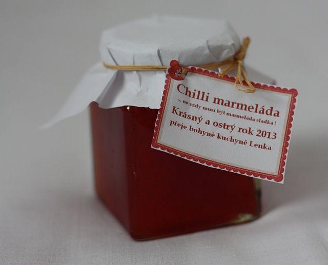 Chilli marmeláda | Chilli Marmelade