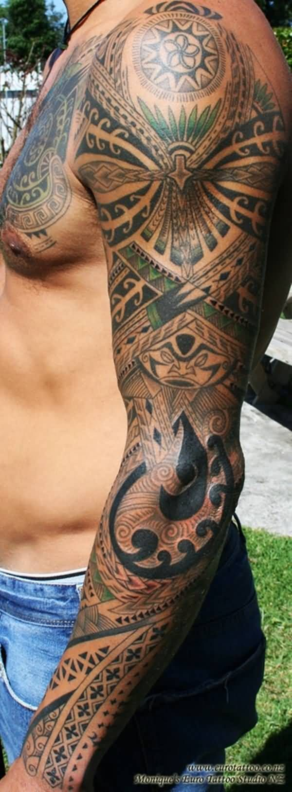 African Arm Tattoo african sleeve tattoo  designs & ideas page 2 ...