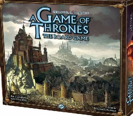 Esdevidium Games a game of thrones the board game second edition A Game Of Thrones The Board Game Second Edition King Robert Baratheon is dead, and the lands of Westeros brace for battle. In A Game of Thrones: The Board Game, three to six players take on the roles  http://www.comparestoreprices.co.uk/board-games/esdevidium-games-a-game-of-thrones-the-board-game-second-edition.asp