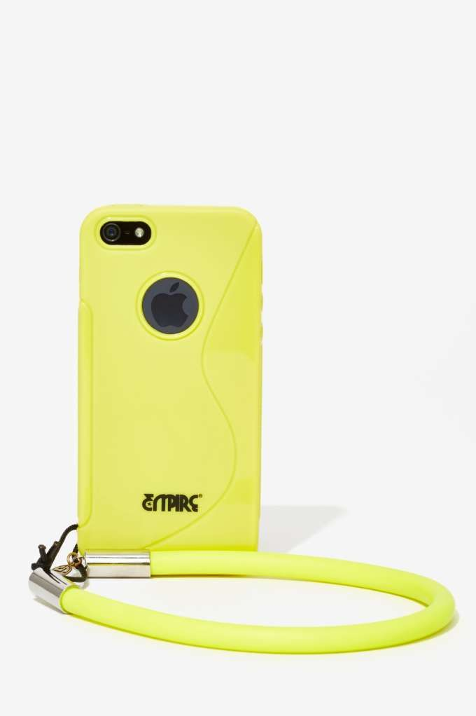 Sarah Frances Kuhn Lemon Drop iPhone Wristlet