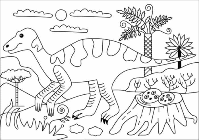 Dinosaur Coloring Pages With Names Dinosaur Coloring Pages Free